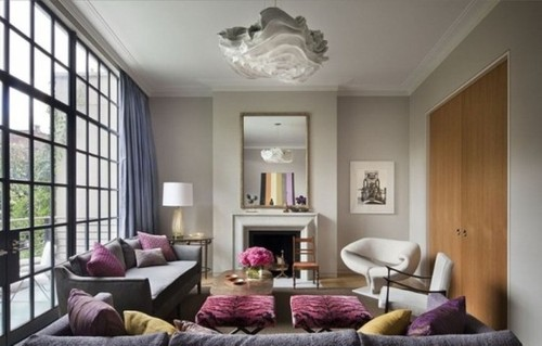 Contemporary Home Designs, Stylish Townhouse With A Very Cozy Interior In New York