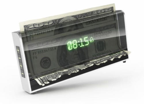 Money Shredding Alarm Clock, Money-shredding Alarm Clock Makes Sure You Dont Snooze in the Morning