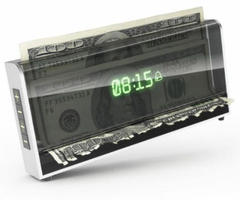 Money-shredding Alarm Clock Makes Sure You Don't Snooze in the Morning
