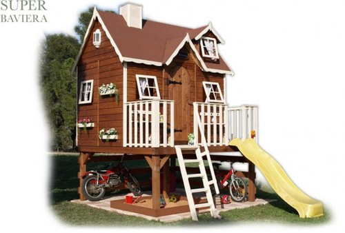 Children Play House, Cool Outdoor Playhouses For Kids