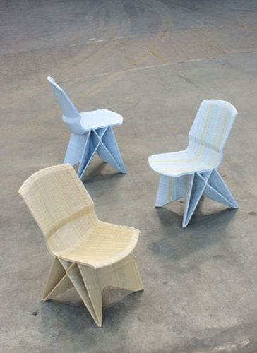 Contemporary Chairs, Endless Plastic Chairs