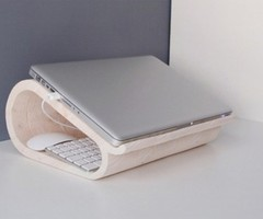 Practical Wooden Stand For A Laptop