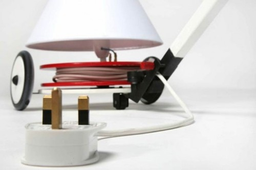 Contemporary Lamp, Very Practical And Stylish Lamp Producing Energy