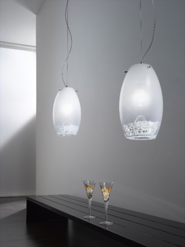 Contemporary Lamps, Original Lamps With Incrustation