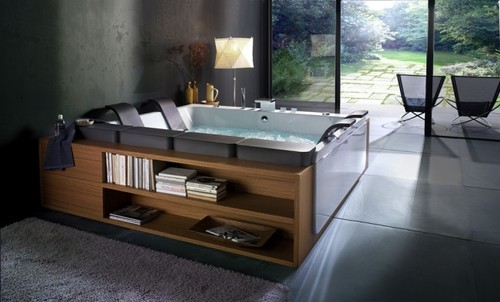 Bathroom Designs, Beautiful Bathtubs by BluBleu