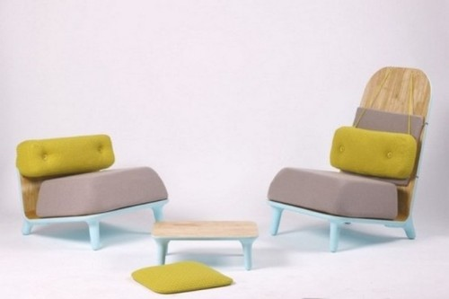 Original Chairs, Cute Low Furniture – Combination Of The East And West