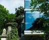 Bizarre: House overlooking a cemetery