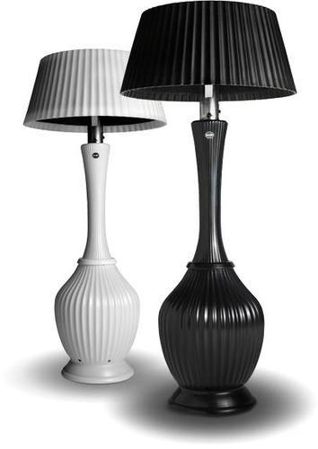 Bella Petite Heater, Patio Heater Lamps From Kindle Living Do Away with Chilly Outdoor Nights