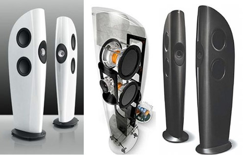 High Quality Speakers, Luxurious And Super Expensive KEF Blade Speaker Set
