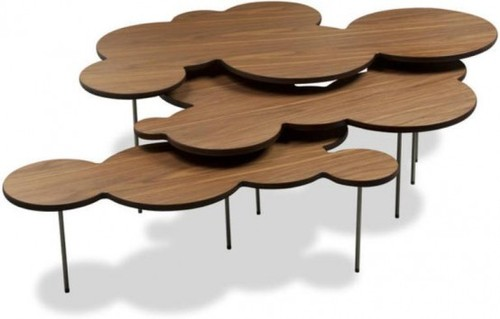 Contemporary Coffee Tables, Clouds Coffee Table Set
