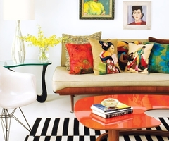 Bright Apartment Design With Pop Art Details