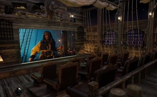 Pirates Of The Caribbean, $2.5 Million Pirates Of The Caribbean Themed Theater By Elite HTS