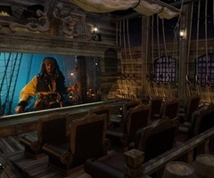 $2.5 Million Pirates Of The Caribbean Themed Theater By Elite HTS