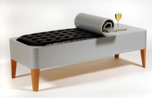 Contemporary Benches, Stylish Canned Bench