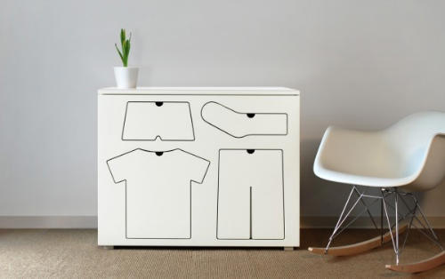 Children Furniture, Training Dresser by Peter Bristol Teaches You How to Pick The Right Clothes