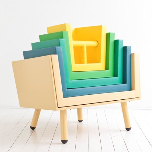 Eco Friendly Children's Furniture, Functional Stackable Chairs For Your Children