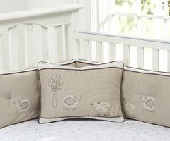 Sweet Lambie Nursery Organic Bedding For Babies