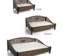 Decorative Pet Bed Made Of Wicker And Steel