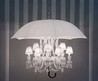 Art Deco Chandelier With An Umbrella