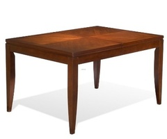 Vogue Contemporary Dining Table In Hardwood