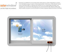 Modern Solar Window Can Recharge Electronics While Staring at the Sun