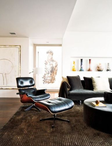 Contemporary Home Designs, Penthouse's Interior That Breathes With Art