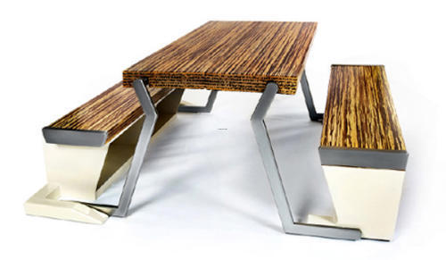 Apartment Furniture, Legato Studio Dinner Table Turns Into a Bench in an Instant