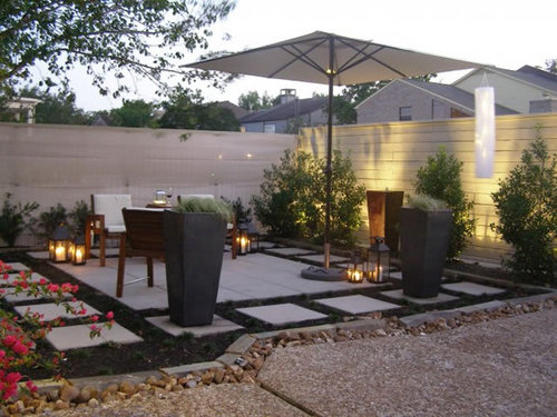Home patio garden ideas photograph small garden patio desi for Small terrace garden ideas