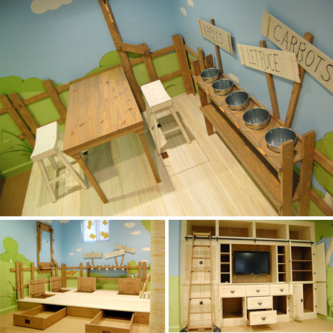 Cool Room Designs on Cool Interior Tree Home  Best Kids Bedroom Design Ever    Design