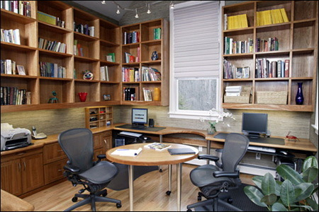 Home Modern Design on Small Home Office Design  A Modern And Elegant Home Office Design