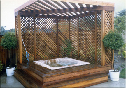 Pdf diy hot tub gazebo designs download how to build a for Hot tub enclosures plans