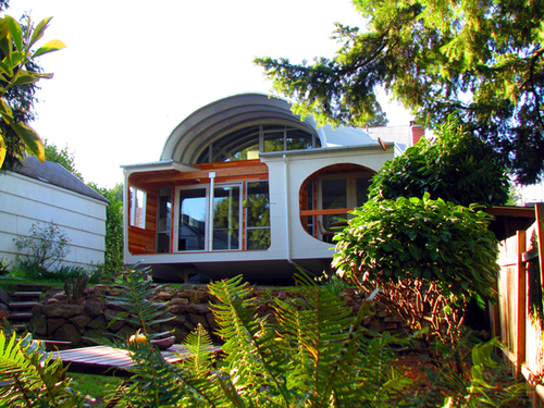 Architecture, Interesting Architecture in Portland: The Eyebrow House