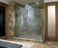 Glass Showers Doors - Bathroom Remodeling