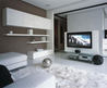 Super Stylish Apartment Interior Design in White by Erges - Home Decorating Ideas  Interior Design Ideas on Modern Residential Design