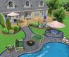 Pool Landscape design Pictures - - Home Design and Decorating