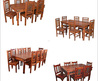 Carved Wood Dining Tables - Carved Wood Dining Tables Exporter, Manufacturer, Distributor, Supplier, Trading Company, Jodhpur, India
