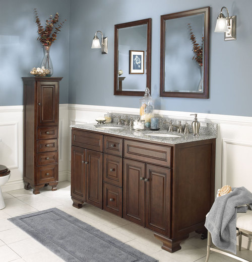 Bathroom Vanities, 2011 Dark Bathroom Vanity Photos, Design Ideas and More
