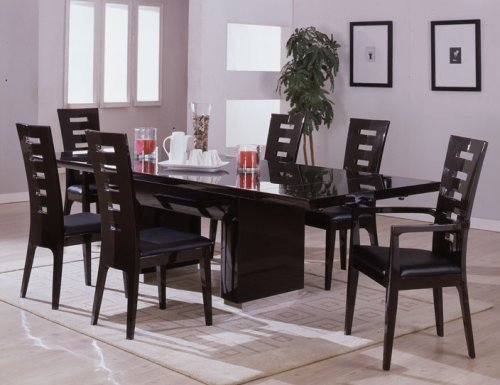 Dining Room Furniture, Adding Neutral Color with Modern Dining Room Furniture Ideas to Make Luxurious Dining Room / pictures photos of home and house designs ideas