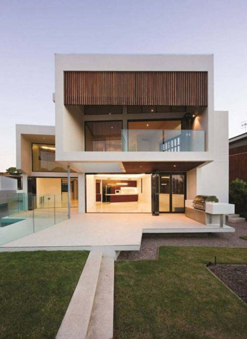 Modern House Front Design, Topics: Architecture