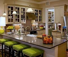 Pictures of Traditional Kitchen Bar Stools | Kitchen Tile Backsplashes
