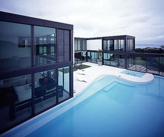 Modern Exterior House Design And Architecture  Pool 