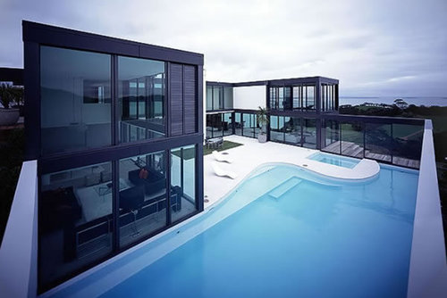 Ultra Modern Home, Modern Exterior House Design And Architecture – Pool