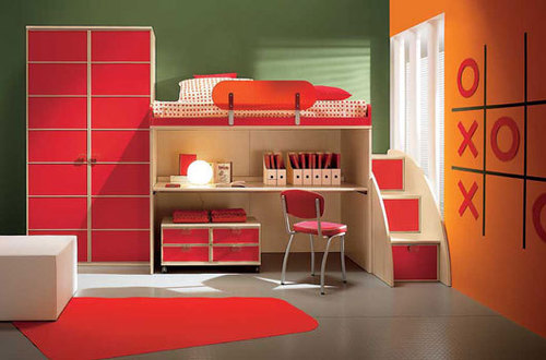 Camerette modern kids bedrooms by arredissima design for Camerette moderne