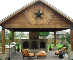 Outdoor Covered patios, Arbors, Fences, Stone Work in Plano, Frisco, McKinney, Allen, Texas