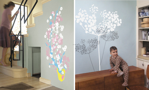 Wall Painting Designs, Home Blog / Wall Decals   Wallpaper: Adding Color Without Paint by COLOURlovers :: COLOURlovers