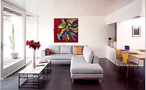 Wall Painting Designs For Living Room, Home Decorating