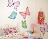 Kids Room Decor With Cool Wall Stickers Girls Kids Room Decor with Cool Wall Stickers 02  Modern Home Design Ideas 