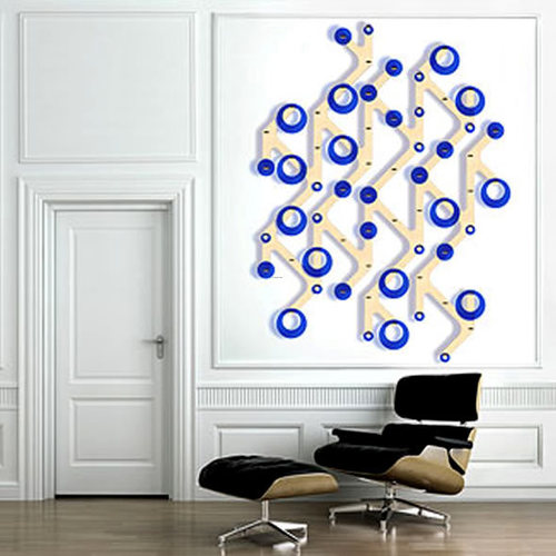 Cool interior wall art design ideas with modul a r t by a for Interior wall design