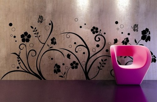 Cool Wall Designs For Teenagers, HOME DESIGNS