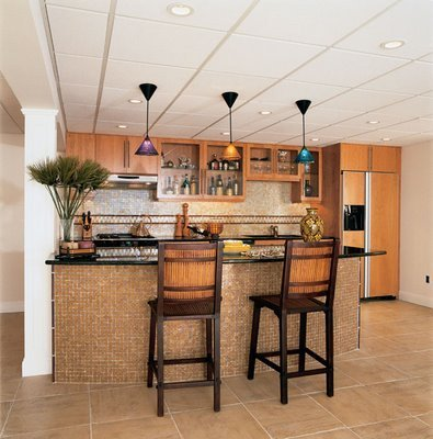 Kitchen Bar Designs, Kitchen Bar Decorating Idea For Home